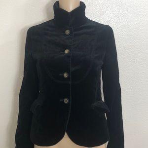 2/$35 J.Crew Black Velvet Jacket